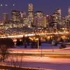 View of Denver at Night