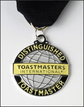 J. David Lampe, Distinguished Toastmaster (DTM)