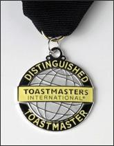 J. David Lampe, Distinguished Toastmaster (DTM)