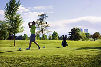 Golfing in Denver
