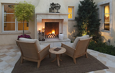 Outdoor rooms can be large or small, clean and contemporary or more rustic. They provide a great, relaxing space outside your home.