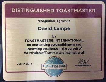 Distinguished Toastmaster Denver Realtor