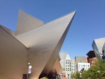 The Denver Art Museum and the Denver Public Library