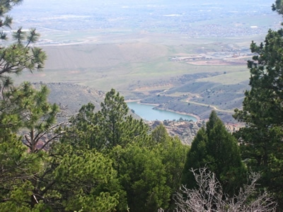 View from White Ranch Park