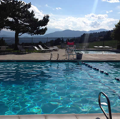 The Pool at the Genesee Vista Clubhouse